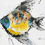Original Qunce Zeng Painting