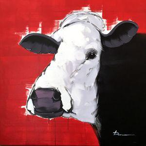 """Cow - Deng Ren 39x39"""""""