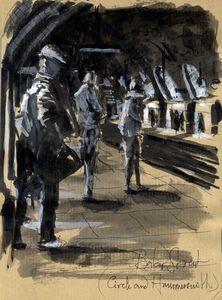 Baker street station, London