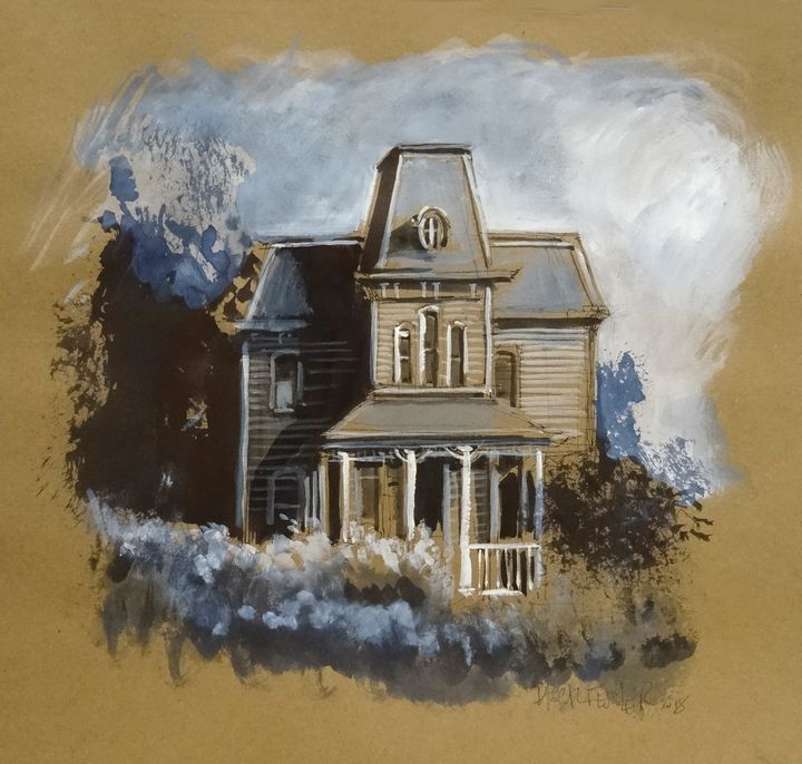 House in the bushes - Pascal Fessler