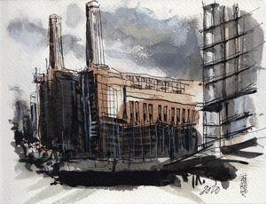 Battersea Power station, London - Pascal Fessler