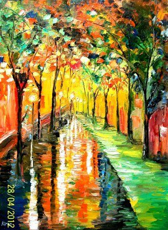 Monsoon Park - Bableshwar's ArtWorks
