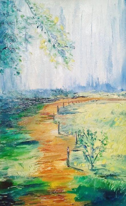 Countryside farm - Bableshwar's ArtWorks