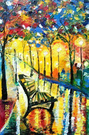 Park Bench - Bableshwar's ArtWorks