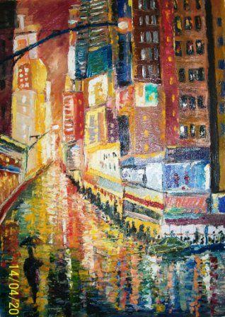 Times Square - Bableshwar's ArtWorks