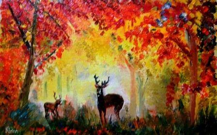 Two deers - Bableshwar's ArtWorks
