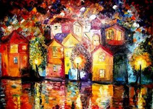 Night after the Shower-Original Sold