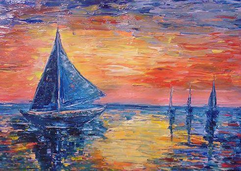 Boats - Bableshwar's ArtWorks