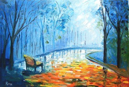Foggy Evening - Bableshwar's ArtWorks