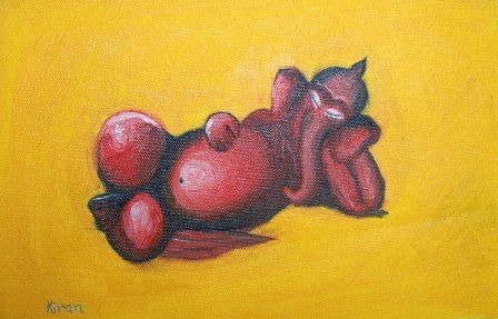 Ganesha- relaxing - Bableshwar's ArtWorks