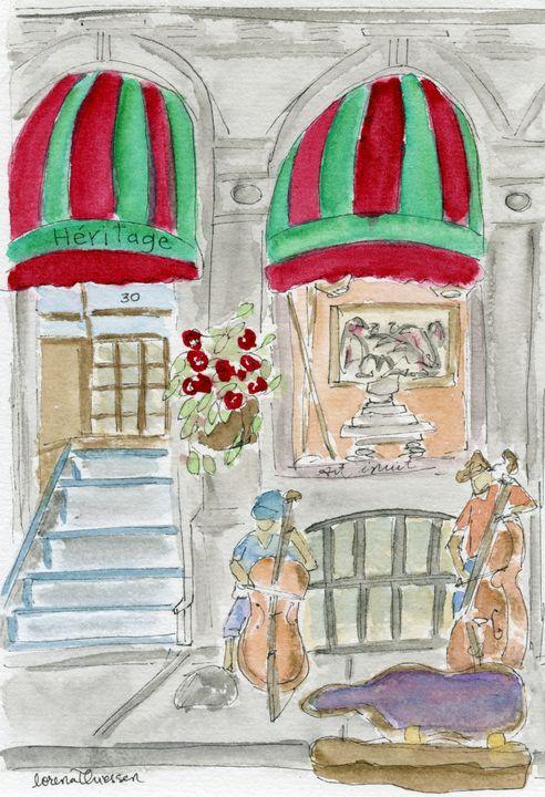 the musique of vieux montreal - LorenaThiessen