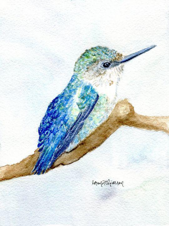 Bee Hummingbird - LorenaThiessen