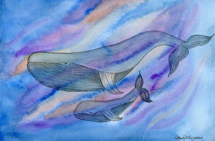 Swim with Mama - LorenaThiessen