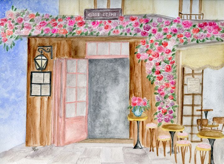 Cafe Creme, France - LorenaThiessen