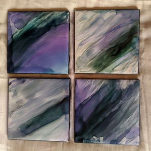 Coasters $38--Free Shipping - Bellafilo Fine Art