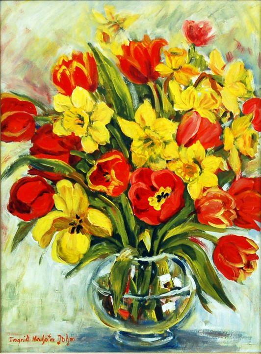 Tulips and Daffodils - Ingrid Dohm