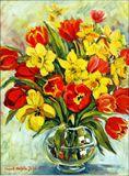 24' x 18' floral still life