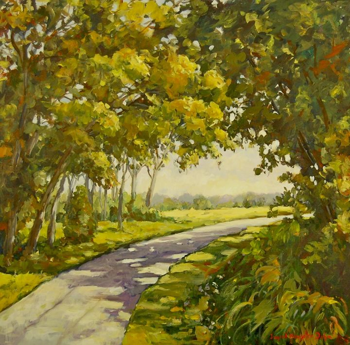 Midway Village Path - Ingrid Dohm