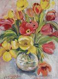 24 x 18 floral Still Life