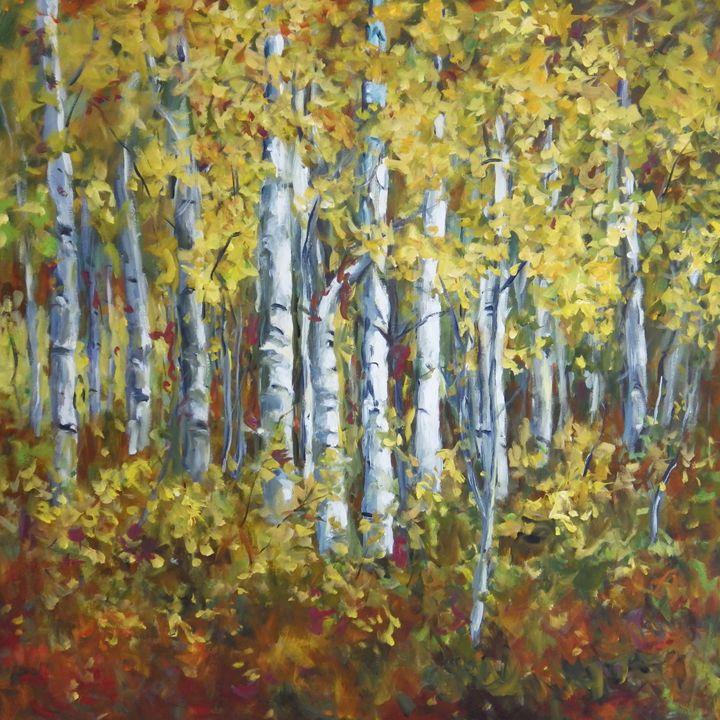 Birch Forest - Ingrid Dohm