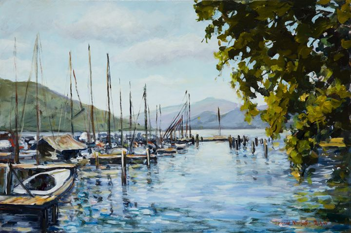 Attersee - Ingrid Dohm