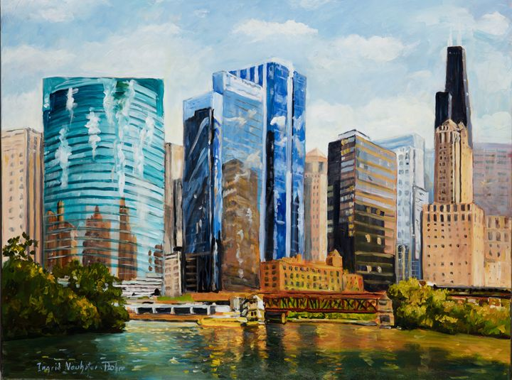 Chicago Skyline - Ingrid Dohm
