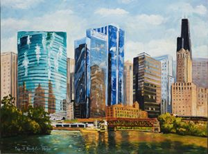 Chicago Skyline - Ingrid Dohm