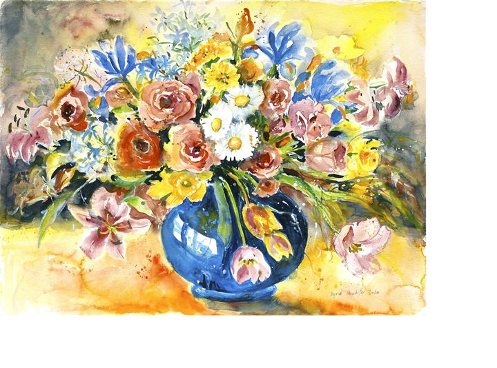 Watercolor I - Ingrid Dohm