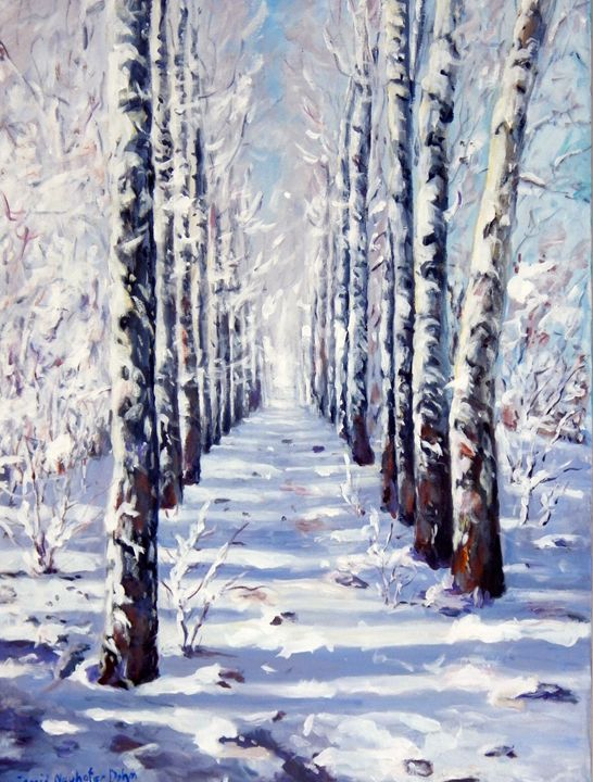 Snow Alley - Ingrid Dohm
