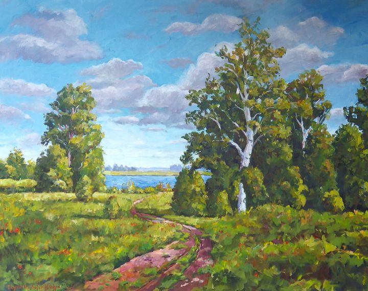 Landscape - Ingrid Dohm