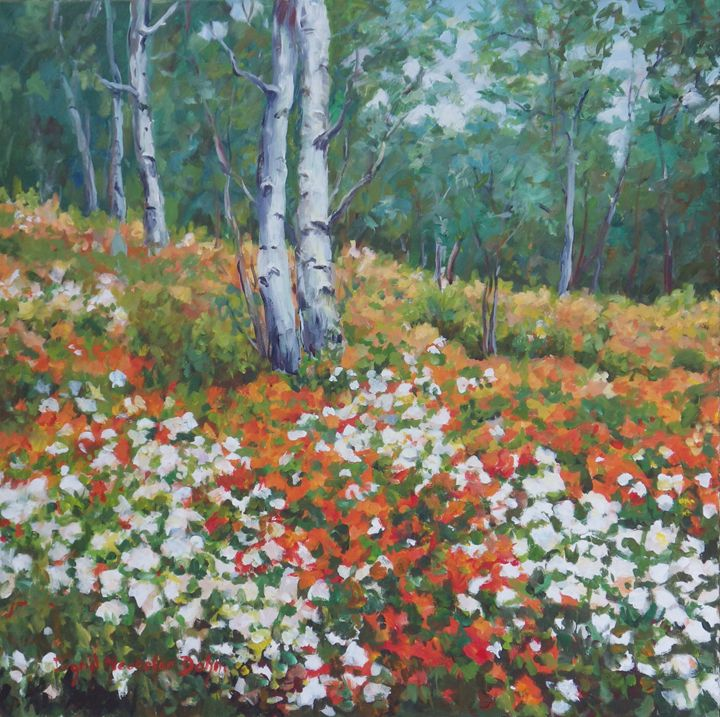 Flowered Forest - Ingrid Dohm
