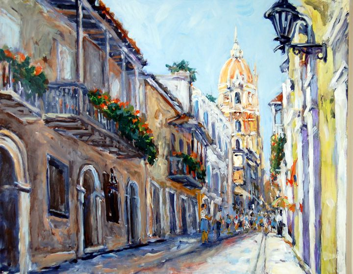 Cartagena Columbia - Ingrid Dohm