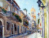 Original Cityscape Painting