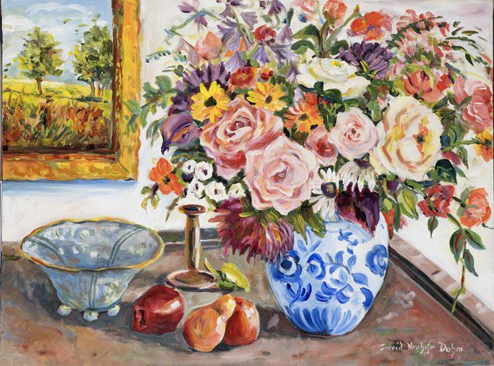 Pink Roses - Ingrid Dohm