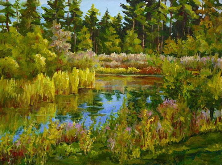 Rock Valley Pond - Ingrid Dohm