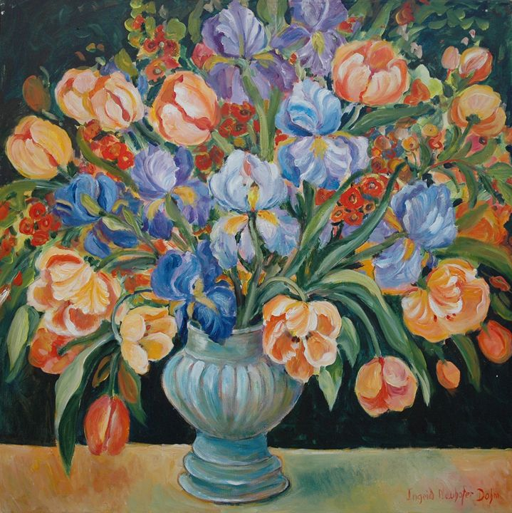 Red Orange Blue - Ingrid Dohm
