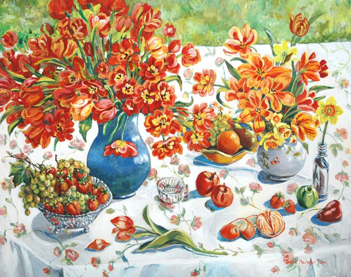 Apples and Orange - Ingrid Dohm