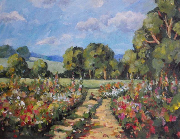 Country Flower Garden - Ingrid Dohm
