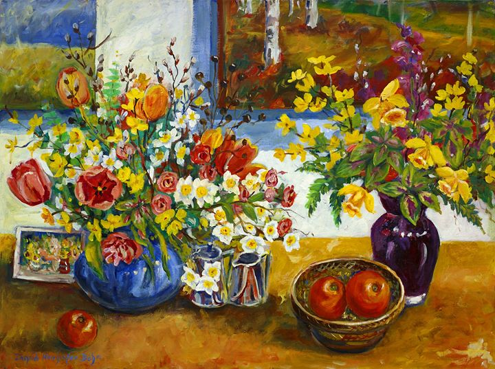 Tulips and Daffodils - Ingrid Dohm