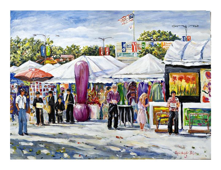 Greenwich Village Art Fair - Ingrid Dohm