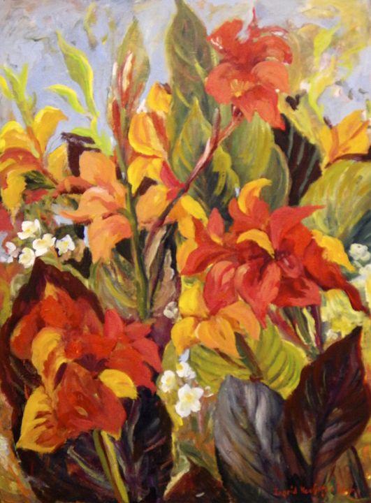Canna Lilies - Ingrid Dohm