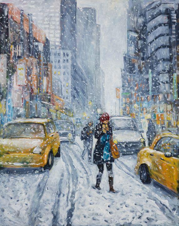 Urban Snowstorm - Ingrid Dohm