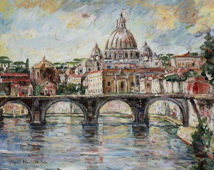 The Tiber River - Ingrid Dohm