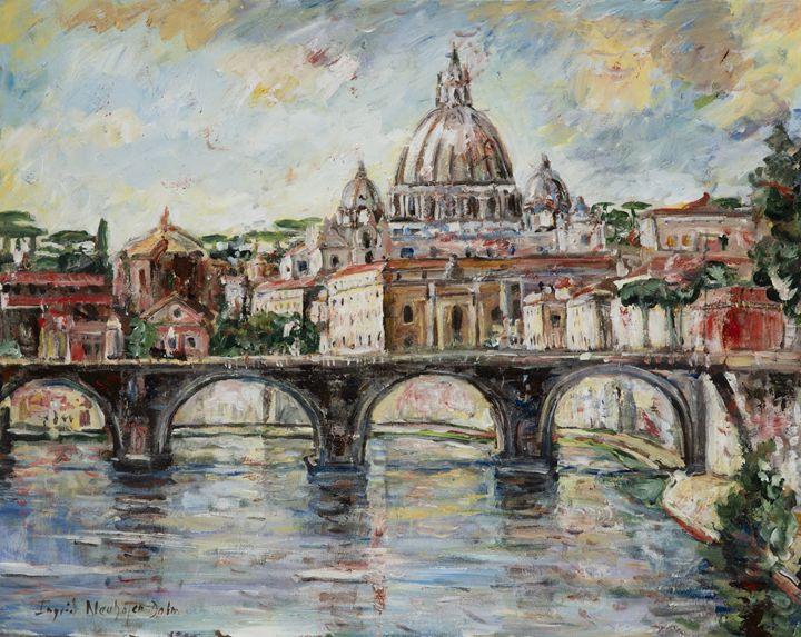 The Tiber River - Ingrid Dohm