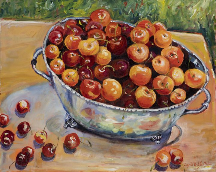 Cherries - Ingrid Dohm