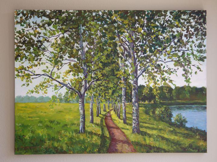 Lakeside Pathway - Ingrid Dohm