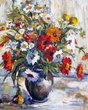 Floral Stil Llife Painting.