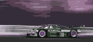 Group C Race Car - THE SPEED ART