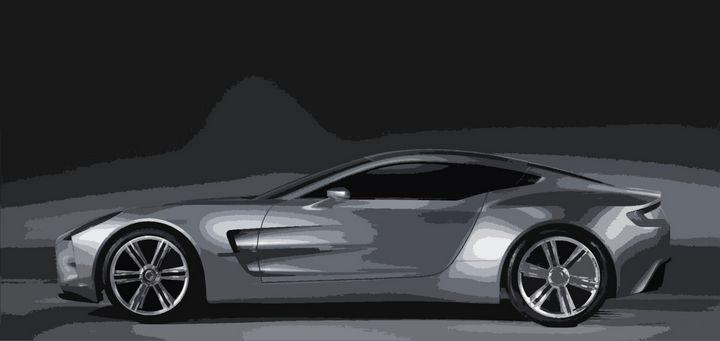 Aston Martin One-77 - THE SPEED ART