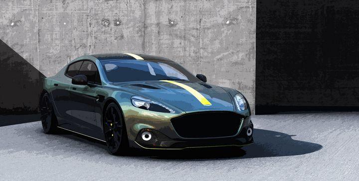 Aston Martin Rapide AMR - THE SPEED ART